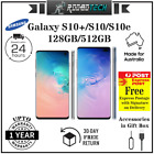 Samsung S10 Plus / S10 / S10e 128gb Unlocked Upto 1 Year Warranty 100% Au Stock
