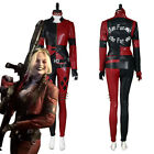 The Suicide Squad Harley Quinn Halloween Cosplay Costume Uniform Outfit Suit