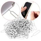10/30/50pcs Sim Card Eject Key Tool Needle Tray Eject Pin For Mobile Phone New