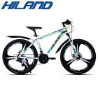 HILAND 26 Inch Bicycle 21 Speed Gears Mountain Bike Suspension Bicycle with