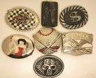 New Assorted Style Belt Buckles for Men Choice, Stock in the US Fast Shipping