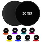 XN8 Core Sliders Gliding Discs Workouts Yoga Abs Legs Fitness Gym Home UK
