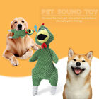 Cat Dog Fun Interactive Playing Molar Doll Sound Chicken Plush Pet Chew Bite Toy