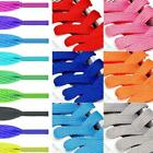 Colorful Shoelaces Coloured Flat Round Bootlace Sneaker Shoe Shoe Strings J9t3