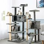 Large Cat Tree Tower Kitten Scratching Post Furniture Climbing Activity Center