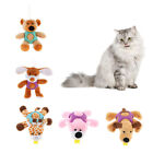 Pet Cow Monkey Bear Toy, Dog Chew Squeaky Toys Rubber Dog Toys Squeaky Toy