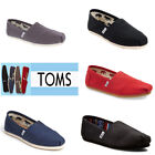 TOMS Women's Canvas Classics Slip-on Shoes Black / Navy / Ash / Red Original New