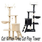 Scratching Post Cat Tree Stand Pet Furniture Kitten Activity Tower Play House