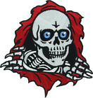 Powell Peralta Bones Ripper Embroidered Patch Various Sizes - FREE SHIPPING!