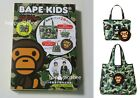 A BATHING APE BAPE KIDS MOOK BOOK 2021 SPRING / SUMMER COLLECTION w/ 2 Bags New
