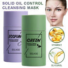 Green Tea Purifying Clay Stick Mask Oil Control Anti-Acne Eggplant Solid Cleaner