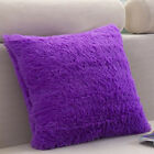 Fluffy Furry Shaggy Soft Throw Square Pillow Case Cushion Cover Sofa Bed Decor