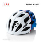 NEW 2021 LAS ENIGMA Road/MTB Cycling Helmet : MATTE WHITE/BLUE