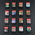 Nintendo Switch - Multi-listing - Select A Game  - Cart Only - Updated Regularly