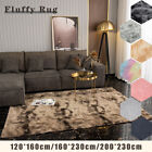 Fluffy Rugs Anti-slip Large Shaggy Rug Super Soft Mat Living Room Bedroom Carpet