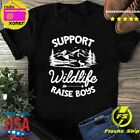 Official Support Wildlife Raise Boys 2021 T-Shirt