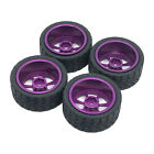 Rc Tires Wheel Set For Wltoys 144001 Rc Model Car Modified Parts Accessories