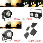2in1 Warm  Cool White COB LED Stage Par Light Stage Light 100W / 200W 2x100W US