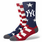 Stance Men's MLB New York Yankees Brigade NY 2 Socks Blue Footwear Uncommon T...