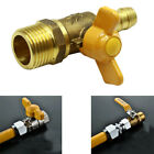 Full 4/6 Points Gas Stove Accessories Switch Adapter Special Brass Ball Valve SL