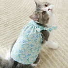 Pet Clothing Floral Print Attractive Soft Fashionable for Walking