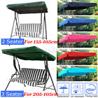 2/3 Seater Replacement Canopy Top Hammock Cover Garden Patio Seater Swing Chair