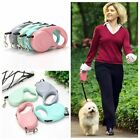 Anti-twist Clip Retractable Leashes Dog Rope Long Strong Pet Cord Leash Leads