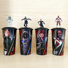 Black Widow Taskmaster Yelena Red Guardian Figure Topper Cup 22oz Exclusive Gift