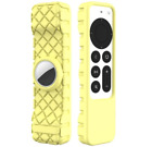 For AirTag Silky-Soft Anti-Slip Protective Case For Apple TV 4K Siri Remote