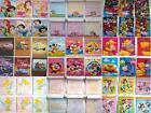 6 pack of DISNEY Character NOTEPAD Memo Pad Party Favor