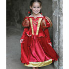 Girls Tudor Queen/Princess Fancy Dress Up Costume