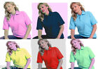 Ladies Polo Shirt T Shirt Top Size 8 - 22   XS - 4XL