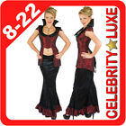 New Vampire Twilight Halloween Ladies Dress Up Costume