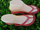 RED LADY THONG SANDALS SIZES : 5-9