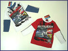 Disney Cars Long Sleeve Tops, Ages 3-8, BNWT!