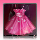 Pinks Christmas Wedding Party Outfit Bridesmaid Flower Girls Dresses SIZE 2-10Y
