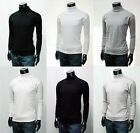 New Mens Stylish Casual Classic Turtle-Neck Collection.