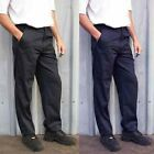 Mens Classic Work Trousers Black or Navy Waist Size 28 to 52 Reg Or Long - 901