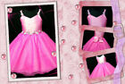 HT Pink Fairytale Halloween Party Girl Dress SZ 2-4-6-8