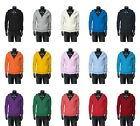 New Mens Stylish Plain Premium Cotton Front Zip_Up Hoody All Colours.(Sz) XS~XL
