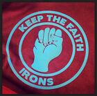 NEW! West Ham Hammers Keep The Faith Soul Irons T-Shirt Mens Ladies & Kids Sizes