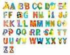 Large Jungle Wooden Letters Alphabet Manget Mangnetic Self Adhesive Fridge Toy