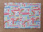 """PACK N PLAY COVER LG (26X38"""") -CHARLIE BROWN, SNOOPY, WOODSTOCK & FRIENDS/COTTON"""