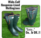 WELLIE  Muck Boots  Quality Neoprene Lined Outdoor Fishing HUNT Riding (NLW)
