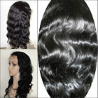 "Body Wave _ 100% Indian Remi Human Hair Wig _ Full Lace / Lace Front wig 8""-20"""