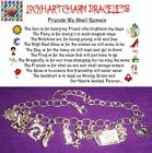Friends We Shall Remain theme for Girls Teens friendship charm bracelet gift set