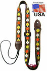 Chicago Red or Tan 'Fiesta' Mandolin Strap