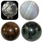 VARIOUS BEAUTIFUL CRYSTALS SPHERE ( 45MM ) TO CHOOSE FROM - UK STOCK - CHEAP