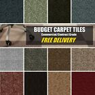 SELECT Commercial Contract CARPET TILES Retail Domestic Tufted Loop Bitumen NEW