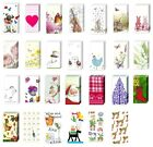 2 packs of Paper Pocket Christmas Handbag Tissues 20 designs stocking fillers
